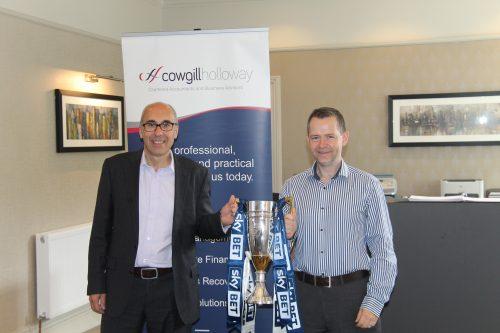 Paul & Jason with EFL trophy