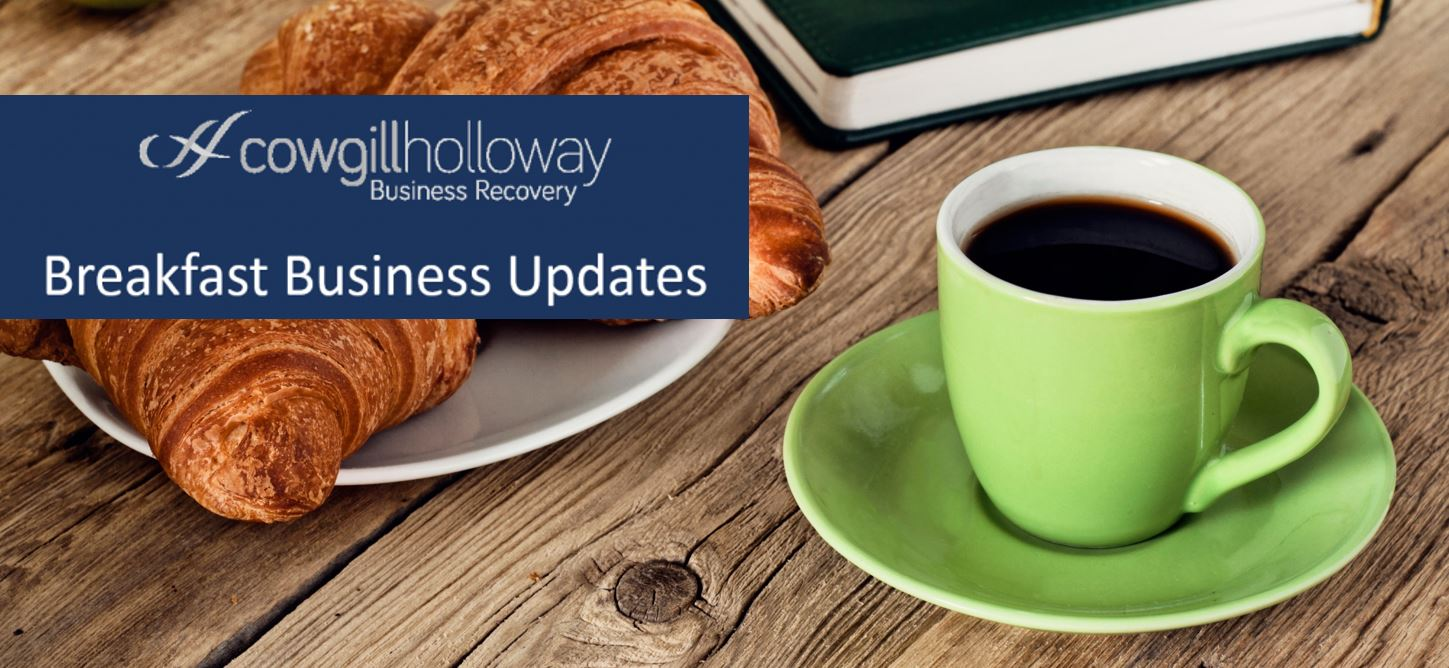 Business Breakfast updates front cover