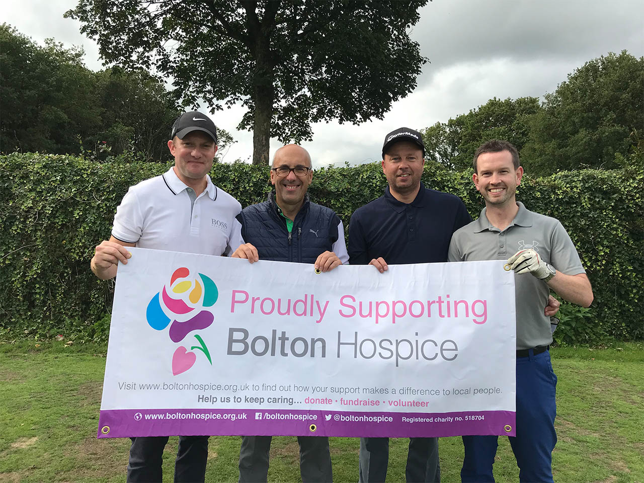 Bolton Hospice Golf Day