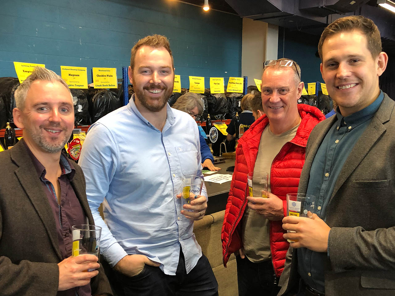 Bolton Lads & Girls Club Beer Festival Sponsors Afternoon