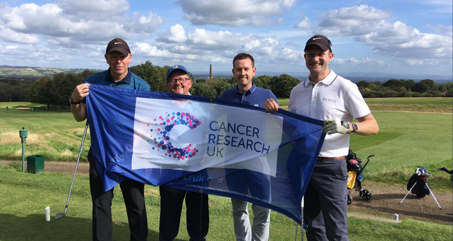 Cowgills raise £6,600 for Cancer Research