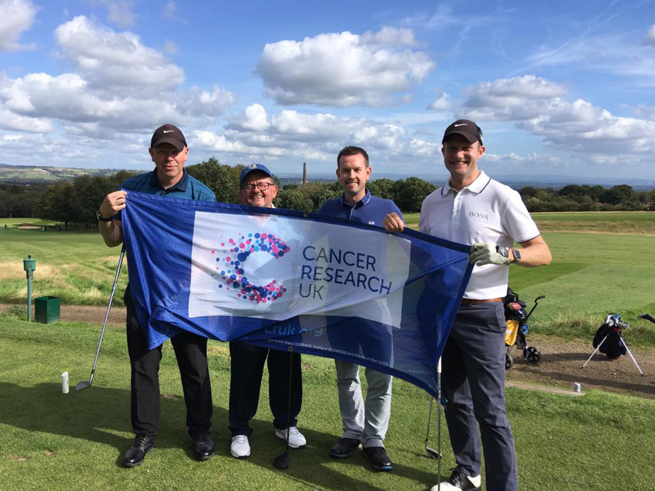Cancer Research Golf Day
